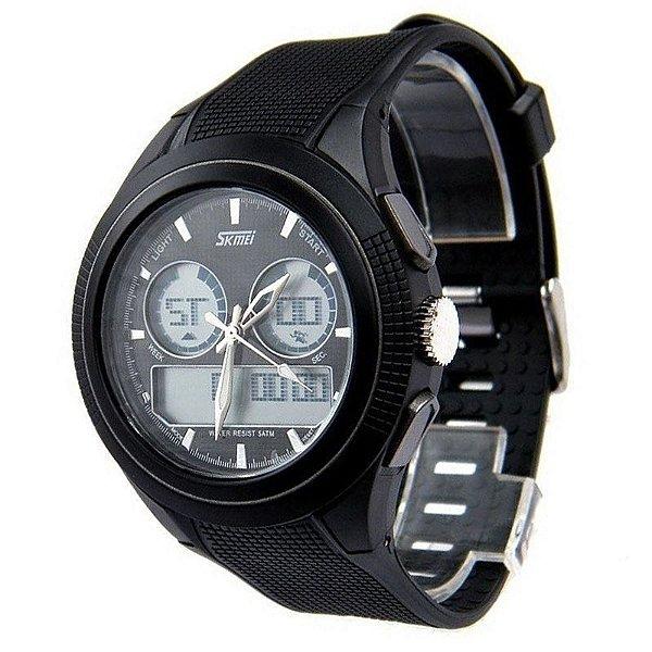 45ff36d3c5b Relógio Skmei Anadigi 0957 Preto - ShopSublime - Aqui tem o melhor ...