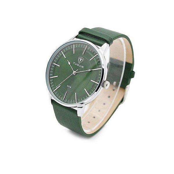 555081caa96 Relógio Masculino Tuguir Analógico 5000 Verde - ShopSublime - Aqui ...