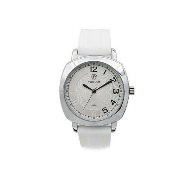 3311e8ac236 Relógio Feminino Tuguir Analógico 5015 Branco - ShopSublime - Aqui ...