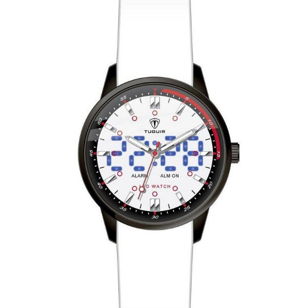 a3371e9290f Relógio Masculino Tuguir Anadigi TG2118 Branco - ShopSublime - Aqui ...