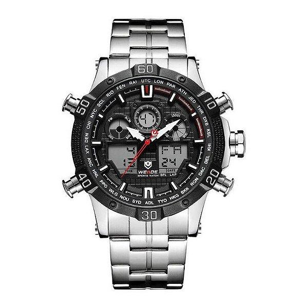 acaad679e15 Relógio Masculino Weide Anadigi WH-6901 - Preto - ShopSublime - Aqui ...