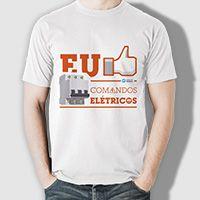 Camiseta Clube do Técnico - Comandos Elétricos
