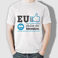 Camiseta Clube do Técnico - Logo like
