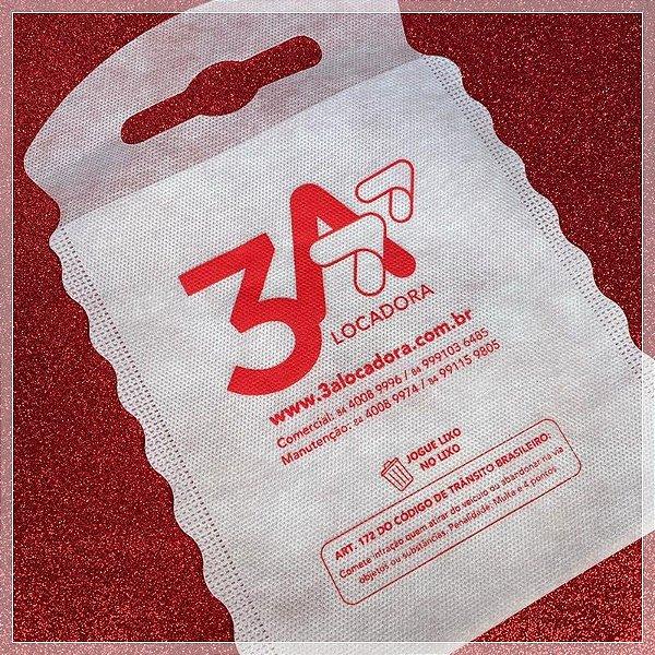 Sacolinhas Ecológicas Lixocar Para Empresas Com Sua Logo