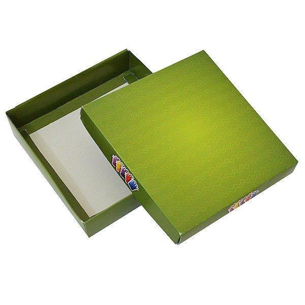 500 Caixas Personalizadas - Papel Duplex - 1 Cor de Impressão