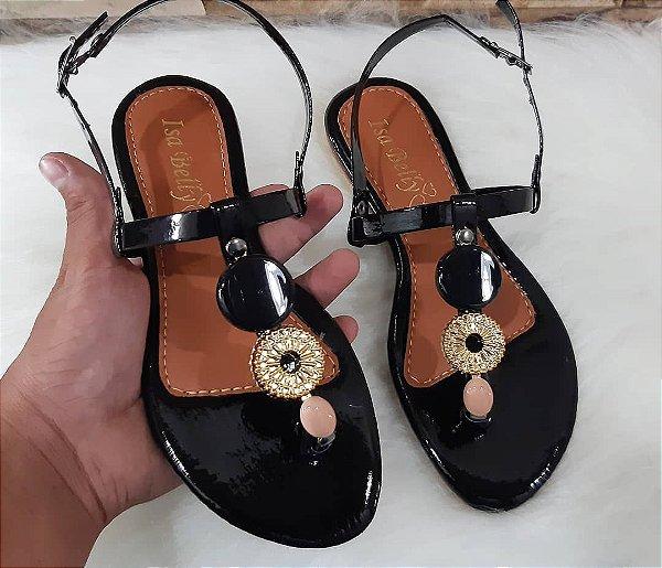 Sandália de Abs Nova Coleção Preto - Atacado
