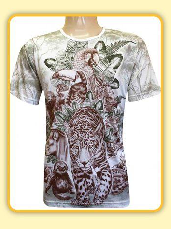 Camiseta Animais (ind)