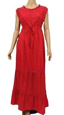 Vestido Longo Vermelho M