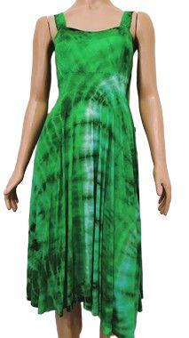 Vestido Verde Tie Dye M