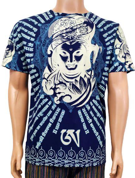 Camiseta Indiana Shiva Estampada M