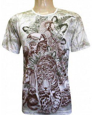 Camiseta Animais (ind) GG