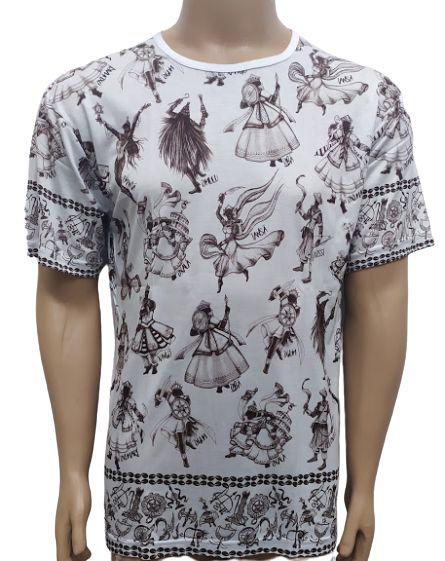Camiseta Estampada Os Orixás