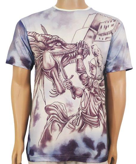 Camiseta Estampada Mata Jorge