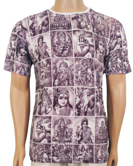 Camiseta Estampada Deuses