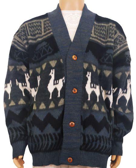 Cardigan De Lã Equatoriano GG