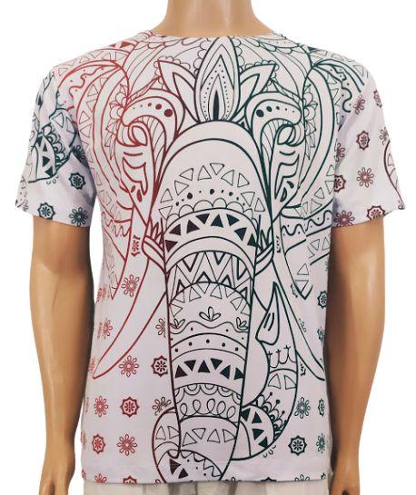Camiseta Elefante Estampada M