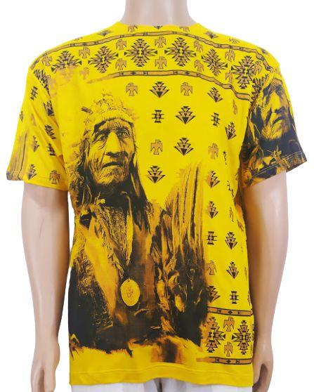 Camiseta Xamãnica Estampada G
