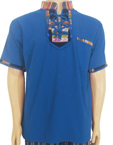 Bata Peruana Azul M