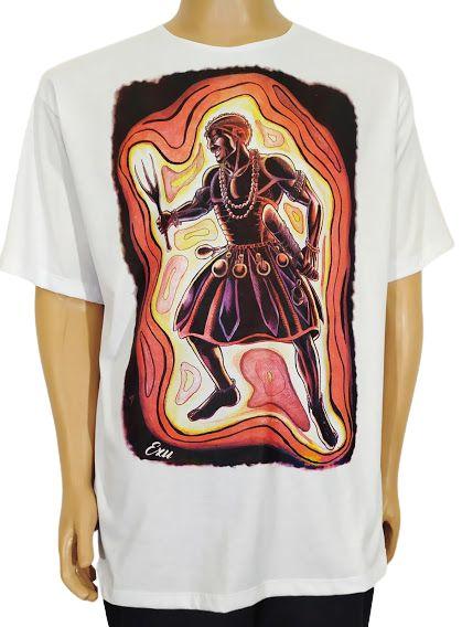 Camiseta Estampada Exu Orixá GG