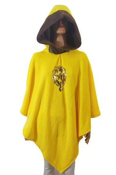 Poncho Manta Amarelo U