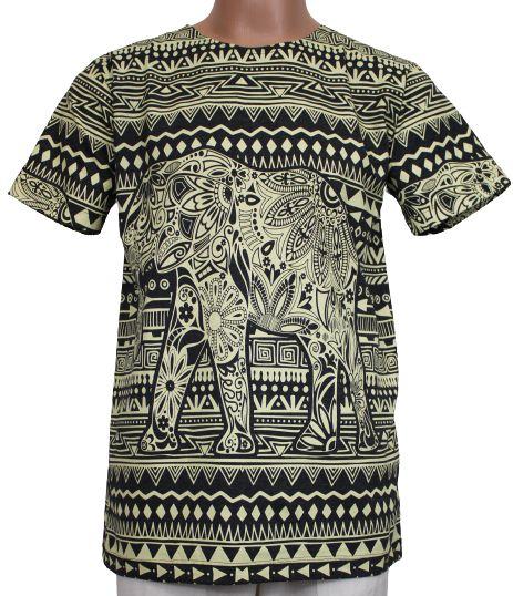 Camiseta Estampada Elefante M