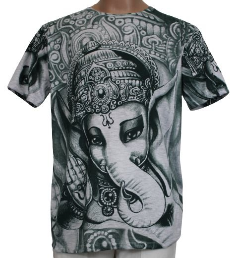 Camiseta Indiana Estampada Ganesh