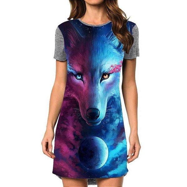 Vestido Lobo Da Luz E Da Escuridão
