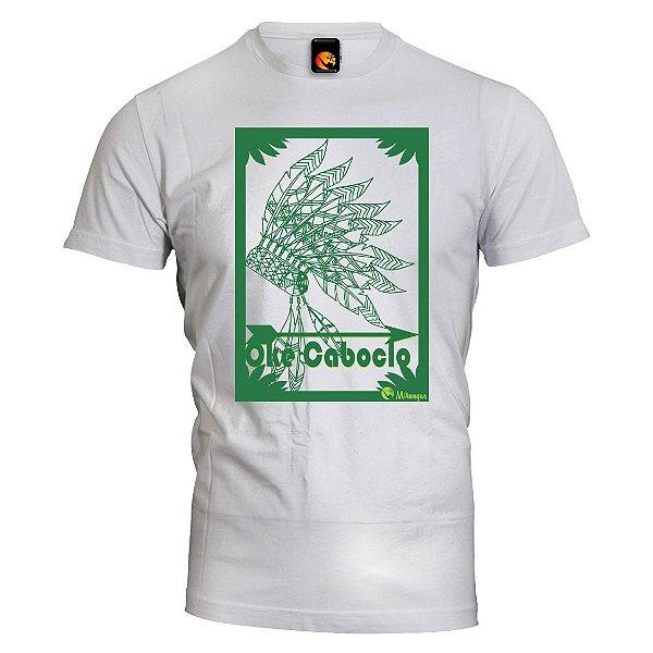 Camiseta Cocar - Okê Caboclo