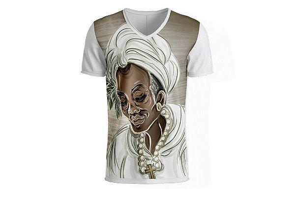 Camiseta Preta-Velha Umbanda