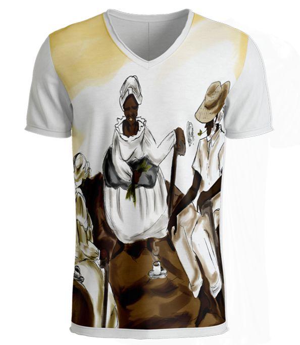 Camiseta Preto-Velho - Roda dos Vovôs