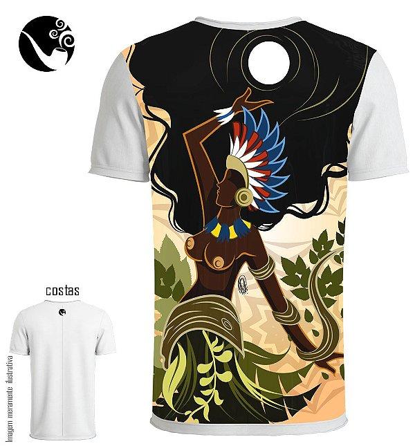 Camiseta Cabocla Jurema - Índia sob a Lua