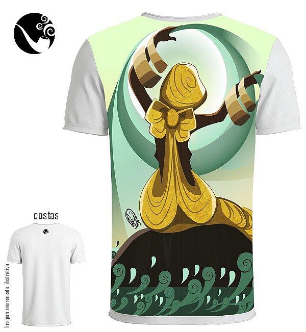 Camiseta Oxum - Círculo D'água