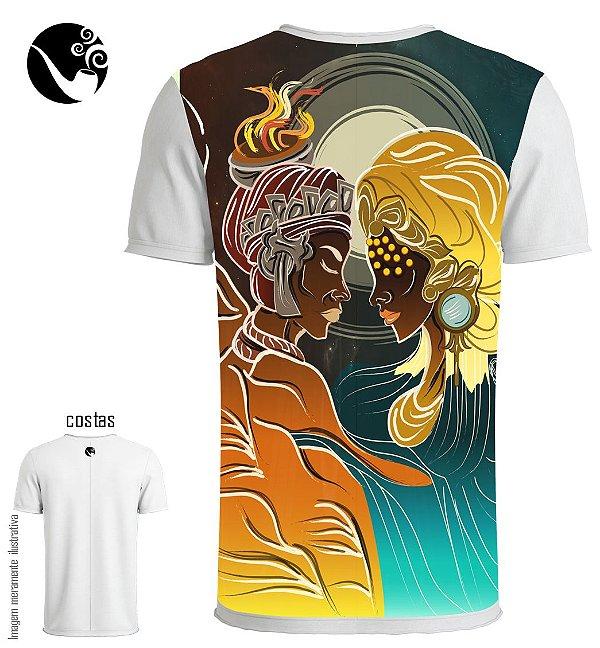Camiseta Xangô e Oxum