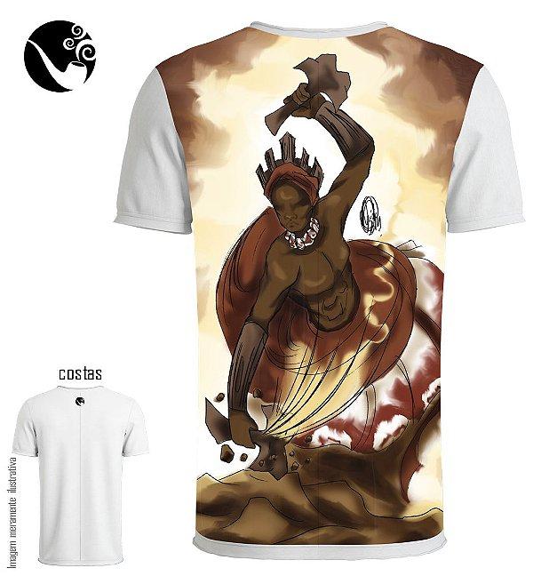 Camiseta Xangô - Quebrando a Pedreira