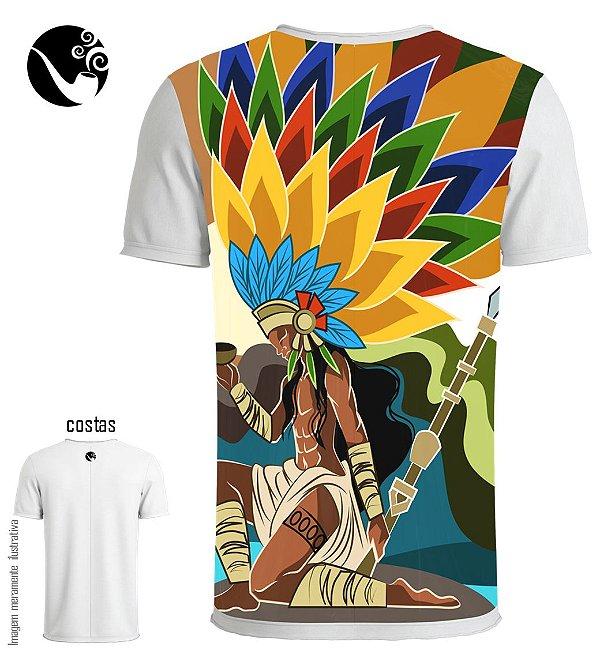 Camiseta Caboclo - Índio Caçador
