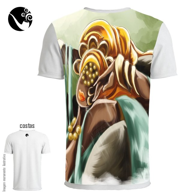 Camiseta Oxum - Deusa do Ouro