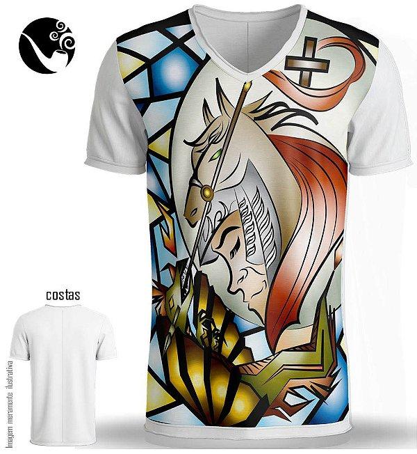 Camiseta São Jorge - Vitral