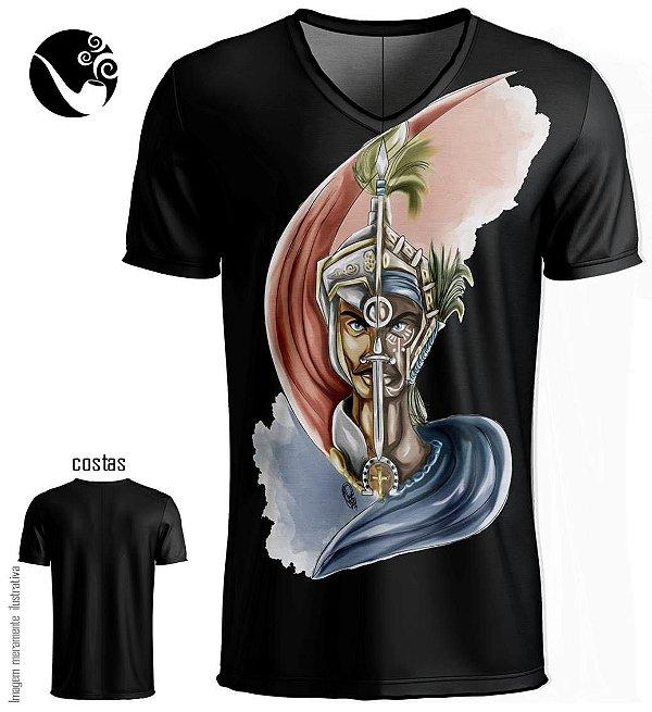 Camiseta São Jorge e Ogum