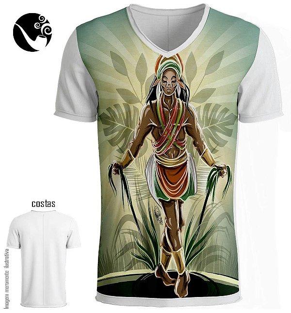 Camiseta Ogum Rompe Mato