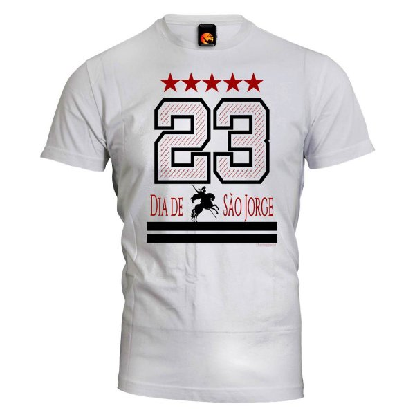Camiseta São Jorge - 23 de Abril