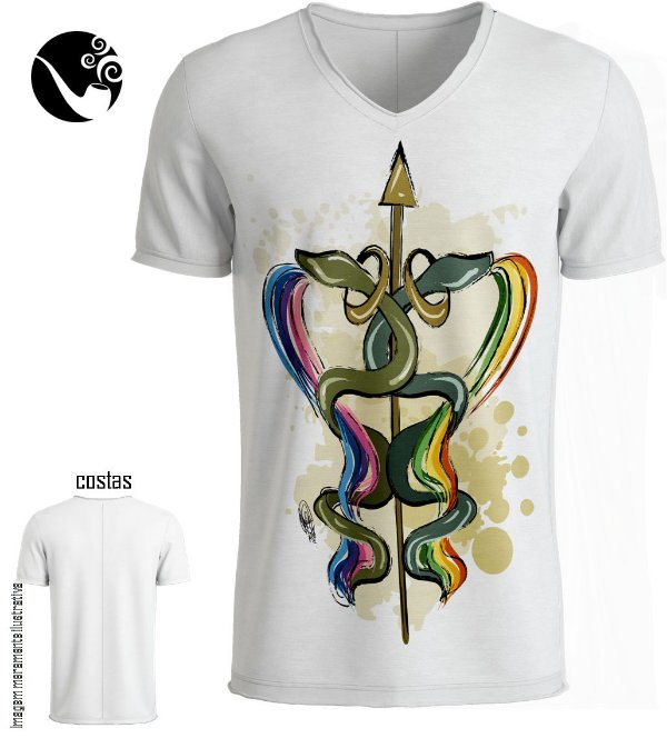 Camiseta Full Oxumarê - Cobras