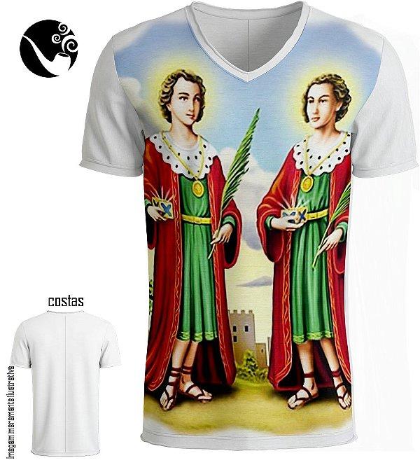 Camiseta Full Cosme e Damião