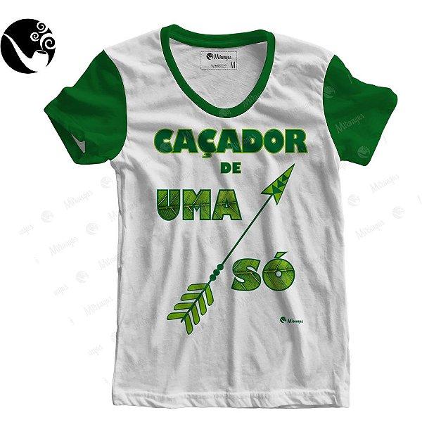 Camiseta Baby Look - Oxossi - Caçador de uma Flexa Só