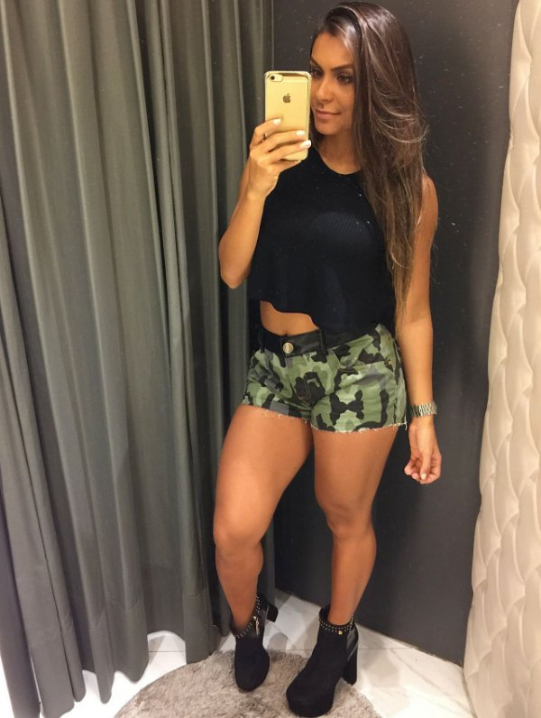 SHORTS MILEY 25 CAMUFLADO GTB