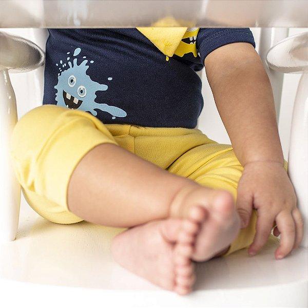 Calça Amarela para Bebê