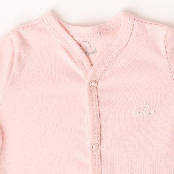 Casaco de Bebê Rosa
