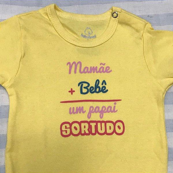 Body de Bebê Mamãe + Bebê