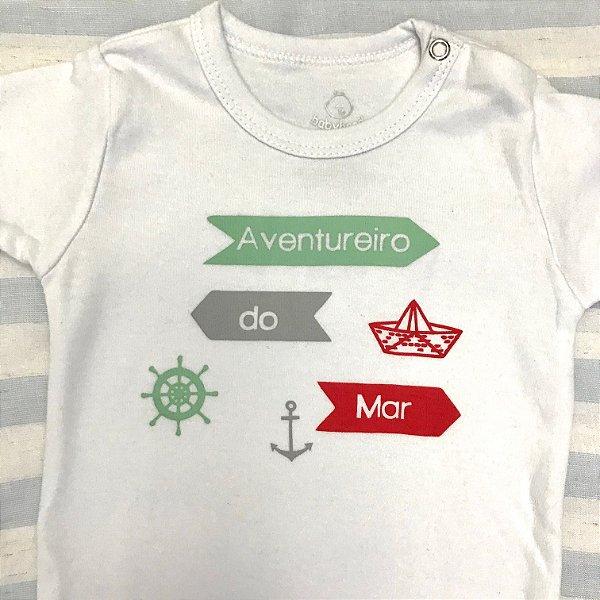 Body de Bebê Aventureiro do Mar