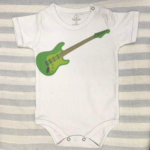 Body de Bebê Guitarra