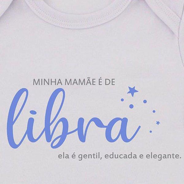 Body de Bebê Mamãe de Libra